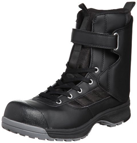 [ミドリ安全] 安全作業靴 JSAA認定 アンクルガード付き ハイカット プロスニーカー YMP05 メンズ ブラック 25.5