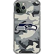Clear Phone Case compatible with the 2020 iPhone 12 Pro Max Transparent & crystal clear iPhone 12 Pro Max Case Thin, compact & slim phone case construction with shock-absorbing air pocket corners Decorated with a premium Seattle Seahawks 3M vinyl dec...