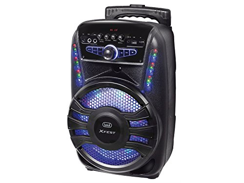Trevi XFEST XF 450 Altoparlante Amplificato Portatile con Trolley, Mp3, USB, Bluetooth e Batteria...