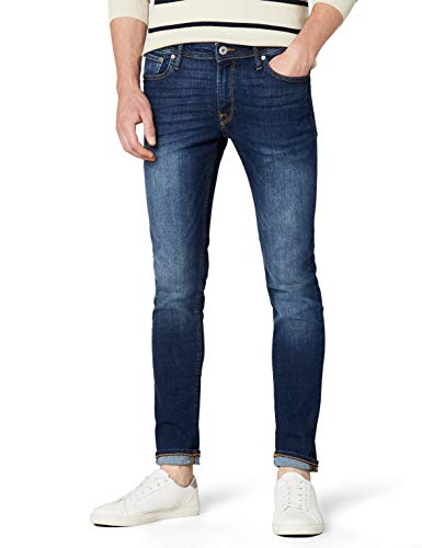 JACK & JONES Herren Liam Original Am 014 Jeanshose, Blue Denim, 34W /...