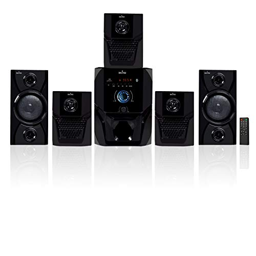 Tecnia Super King Series 5.1 Bluetooth Multimedia Speakers with FM/PenDrive/Sd Card/Mobile/Aux Support