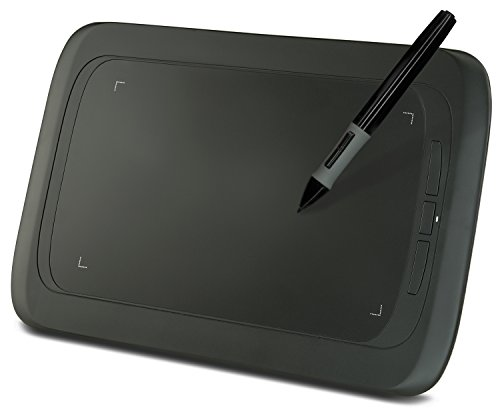 HUION H690 Graphic Tablet Drawing Tablets and Pen/Stylus for PC Mac Computer, 9 x 6 Inches Surface Area 2048 Levels of Pressure Sensitive Surface with 3 Hot Keys, 5080 LPI Resolution