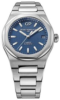 Girard Perregaux Laureato 42mm Mens Watch (Blue)