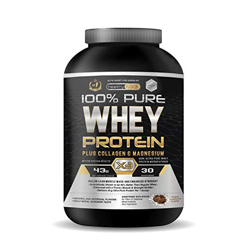 Whey Protein | Proteina whey pura con colágeno + magnesio | Tonifica...