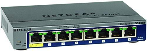 Netgear Switch Ethernet Gigabit 8 Porte, Smart...
