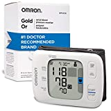 Omron Gold Blood Pressure Monitor, Portable Wireless Wrist Monitor, Digital Bluetooth Blood Pressure...