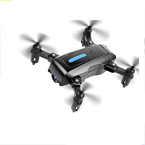 HRXS UAV Pieghevole, videocamera 4K HD, Posizionamento GPS, Trasmissione WiFi in Tempo Reale, Rotazione a 360 Gradi, decollo/atterraggio a Una Chiave, con Pacchetto di archiviazione