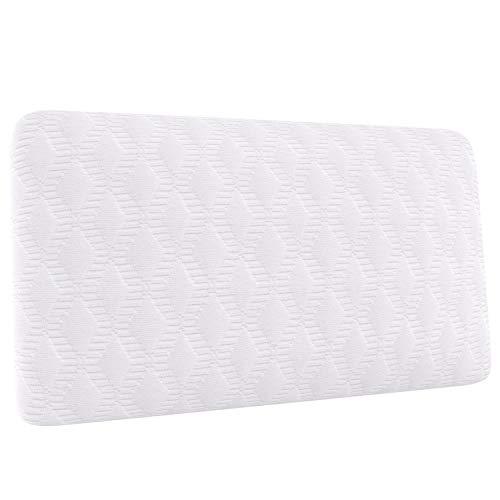 Amazon Basics Petit oreiller de voyage, mousse visco-élastique - 42 x 24 x...
