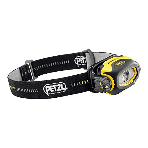 Petzl 650628 PIXA 2 Headlamp, 80 Lumen, Black/Yellow