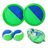 EVERICH TOY Paddle Toss and Catch Ball Set-Upgraded Version 8inch Paddle Catch Games Toy for...