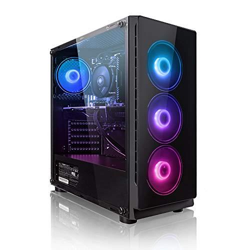 Megaport PC Gamer Goblin AMD Ryzen 5 3600 6X 3,60 GHz • GeForce RTX2060 6Go • 16Go DDR4 • 240 Go SSD • 1To • Windows 10 • WiFi • USB3.0 Unité Centrale Ordinateur de Bureau