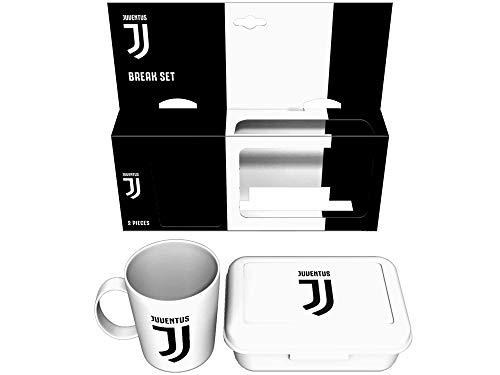 Tazza e portamerenda Juventus