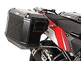 Hepco & Becker Sidecarrier Cutout black incl. Xplorer Cutout sideboxes for Yamaha Ténéré 700 (2019-) | 6514564 00 22-01-40