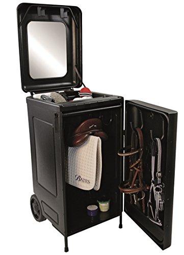 Mobile Sattelbox Sattelschrank auf Rollen Kunststoff   Transportabler Sattelschrank   Sattelboy   Trailer Box