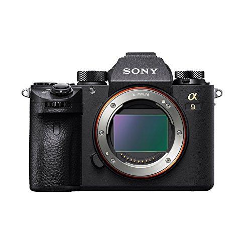 Sony ILCE-9 Full-Frame 24.2MP Mirrorless Interchangeable Lens Camera Body Only (Black) + SanDisk 128GB Extreme Pro SDXC UHS-I Card - C10, U3, V30, 4K UHD, SD Card 3