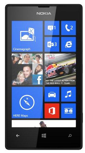 Nokia Lumia 520 8GB Black - International Version, Factory Unlocked WP8 1