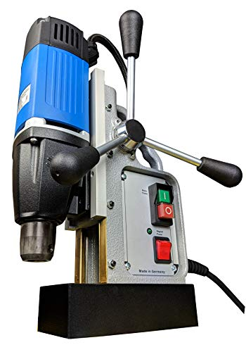 Magnetbohrmaschine MB30 Kernbohrmaschine 900W Made in Germany für kurze und lange Kernbohrer bis 30mm inkl. Direktaufnahme 19mm Weldon