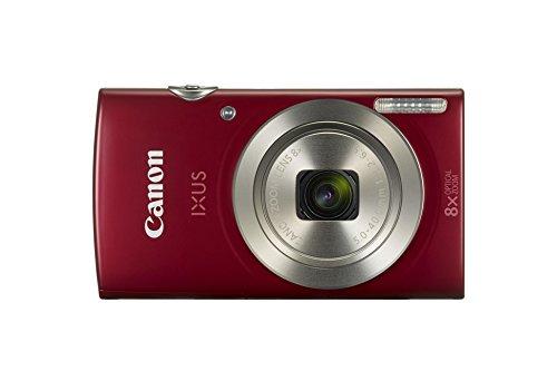 Canon IXUS 185 Fotocamera Digitale Compatta, 20 MP, 1/2.3', CCD 5152 x 3864 Pixel, Rosso