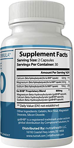 Evoelite Keto Pills 800mg Advanced Ketones BHB Ketogenic Supplement for Weight Loss Pills 60 Capsules 800 MG GO BHB Salts to Help Your Body Enter Ketosis More Quickly 3