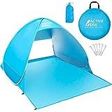 Active Era Tente de plage Pop Up Déployable - protection solaire UV UPF...