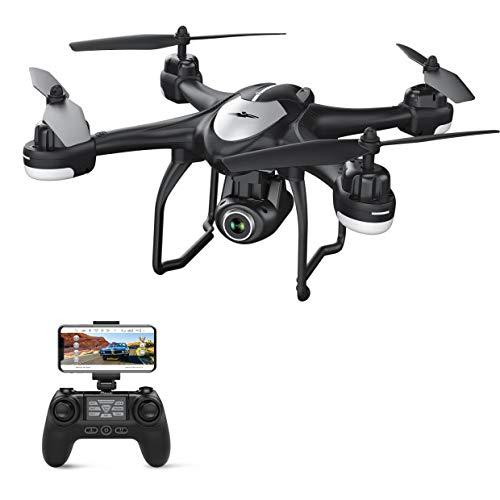 Potensic GPS Drone con Telecamera 1080P HD FPV RC Drone WiFi con Fotocamera Grandangolo Regolabile,...