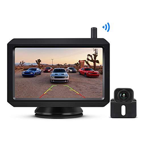BOSCAM K7 Drahtlos Digital Rückfahrkamera Set mit Eingebautem Funksender,...