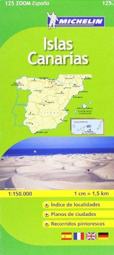 Mapa Zoom Islas Canarias (Mapas Zoom Michelin)