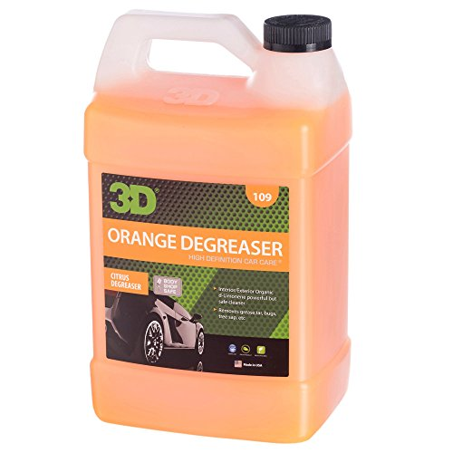 3D Orange Degreaser Citrus Cleaner - 1 Gallon | Safe, Green and Organic Multi-Use Cleaner for...