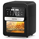8-in-1 Air Fryer, 6.5 Quart Air Fryer Oven, Hot Airfryer Convection Oven with Digital Touch Screen and Temperature Control, ETL Certified