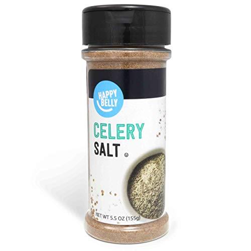 Amazon Brand - Happy Belly Celery Salt, 5.5 Ounces