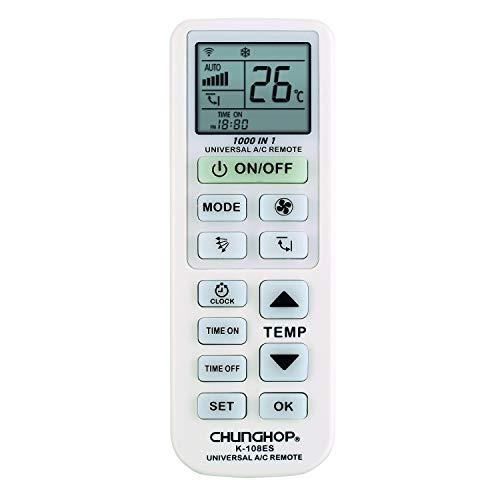 Chunghop - K-108ES - Télécommande Universelle pour climatiseurs