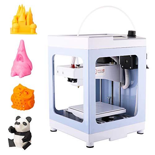 3Dプリンタ 本体 完成品 小型 家庭用 3Dプリンター 組立て済み 軽量 コンパクト PLAフィラメント 造形サイ...