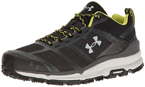 Under Armour Men's Verge Low Hiking Boot, Black (002)/Stealth Gray, 12