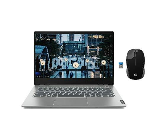 "2020_Lenovo ThinkBook Laptop, 14.0"" FHD, Intel Core i5 8265U Processor, 8GB RAM, 256GB SSD, Discrete AMD Radeon 540X Graphics, Fingerprint Reader, Backlit Keyboard,Wireless Mouse, Win 10"