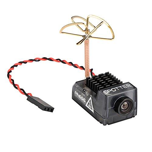 Spotter V2micro FPV AIO fotocamera 5.8g con microfono integrato, OSD FOV170gradi 700TVL, video...