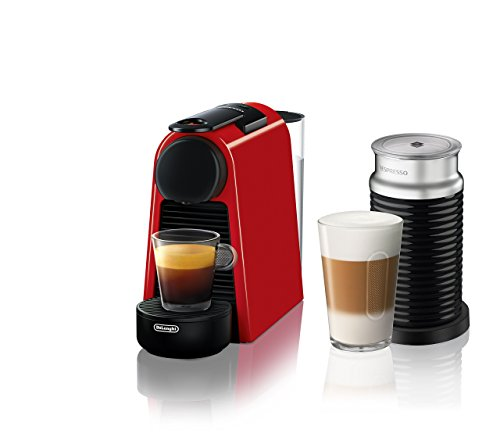 Nespresso by De'Longhi Essenza Mini Original Espresso Machine Bundle with Aeroccino Milk