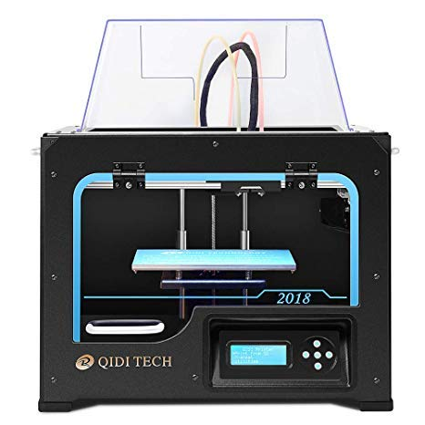 QIDI Technology Dual Extruder Desktop 3D Printer QIDI TECH I, Fully...