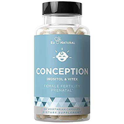 Get the right mix of prenatal vitamins to regulate your menstrual cycle, aid ovulation, and support hormonal balance for a healthy pregnancy. With folic acid, inositol, and vitex you can have the confidence that every capsule has the strength and pot...