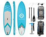 iROCKER Nautical Inflatable Paddle Board | Aqua