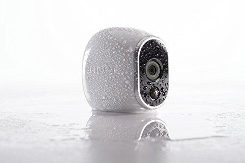 4143b3VvaGL [Bon plan Arlo ] Caméra de surveillance Wifi Sans fils, Pack de 1 HD Jour/Nuit, Etanche IP65, Intérieur/Extérieur, Fixation A...