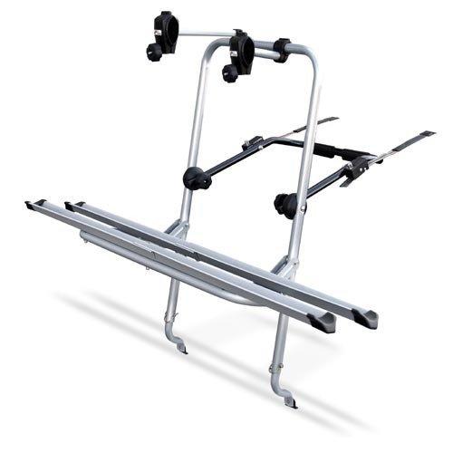 LOGIC portabici posteriore per 2 biciclette, fissaggio meccanico