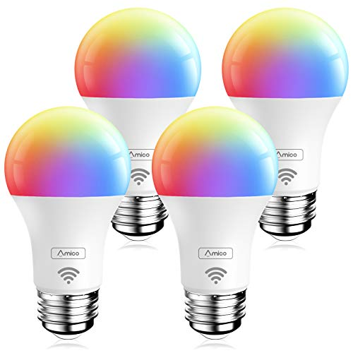 Amico Smart Light Bulb 4 Pack
