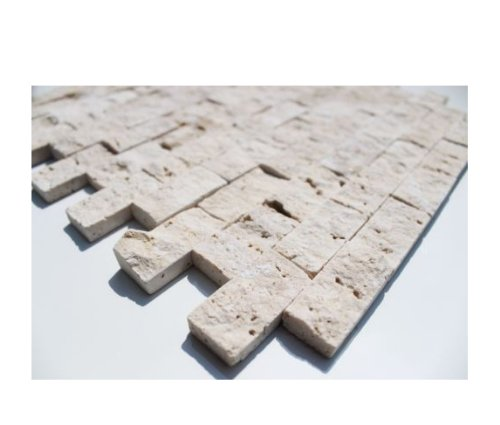 Travertine Mosaik Light Boden Wand Naturstein Mosaik - 1 Matte
