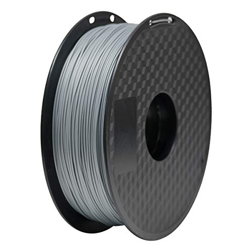 PLA Filament 1.75mm, Geeetech 3D Printer PLA Filament,1.75mm,1kg per Spool,Silver