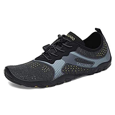 PERFECT MATERIAL: Upper with salt resistance wear resistance stretch breathable ultra light weight 90% polyester; 10% spandex material for fast draining and cross ventilation, give excellent flexible and comfortable not stuffy feet. The perfect baref...
