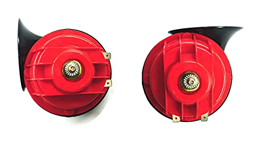 A2D ® Heavy Sound Super Type R Bike Horn-Set of 2- for Bike of Royal Enfield Electra