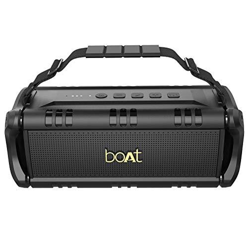 boAt Stone 1400 30 Watt 1.0 Channel Truly Wireless Bluetooth Outdoor Speaker (Active Black)