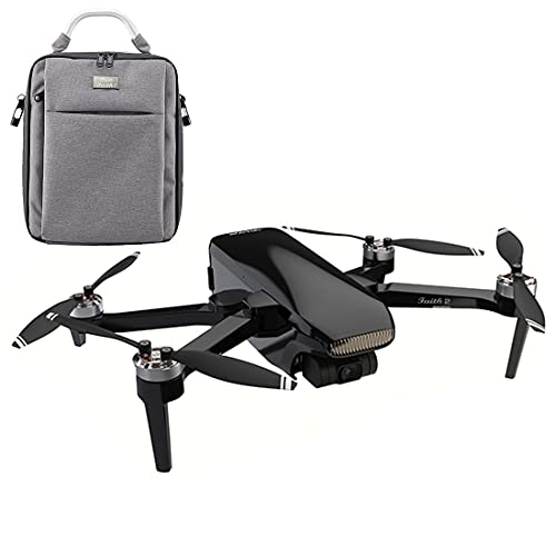 YOU339 Faith2 - Drone per fotografia, pieghevole, 4 K, HD, GPS, 3 assi, quadricottero Gimbal con borsa portatile, colore: Bianco