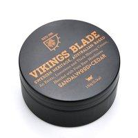 VIKINGS BLADE Luxury FOAMING Shaving Cream, Sandalwood & Western Red Cedar, Surfactant Base