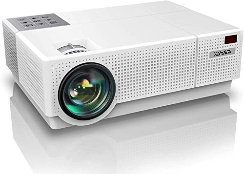 YABER Proiettore, 7200 Lumen Videoproiettore 1080P Nativa (1920x1080) ±50° Trapezoidale Correzione Led Full Hd 350'...
